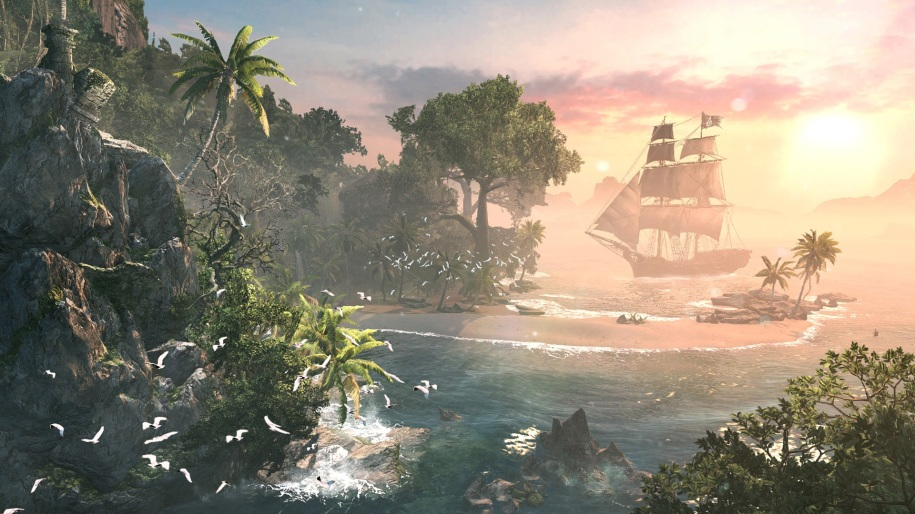 Assassin's Creed Black Flag, ubisoft, screenshot, vgfilter